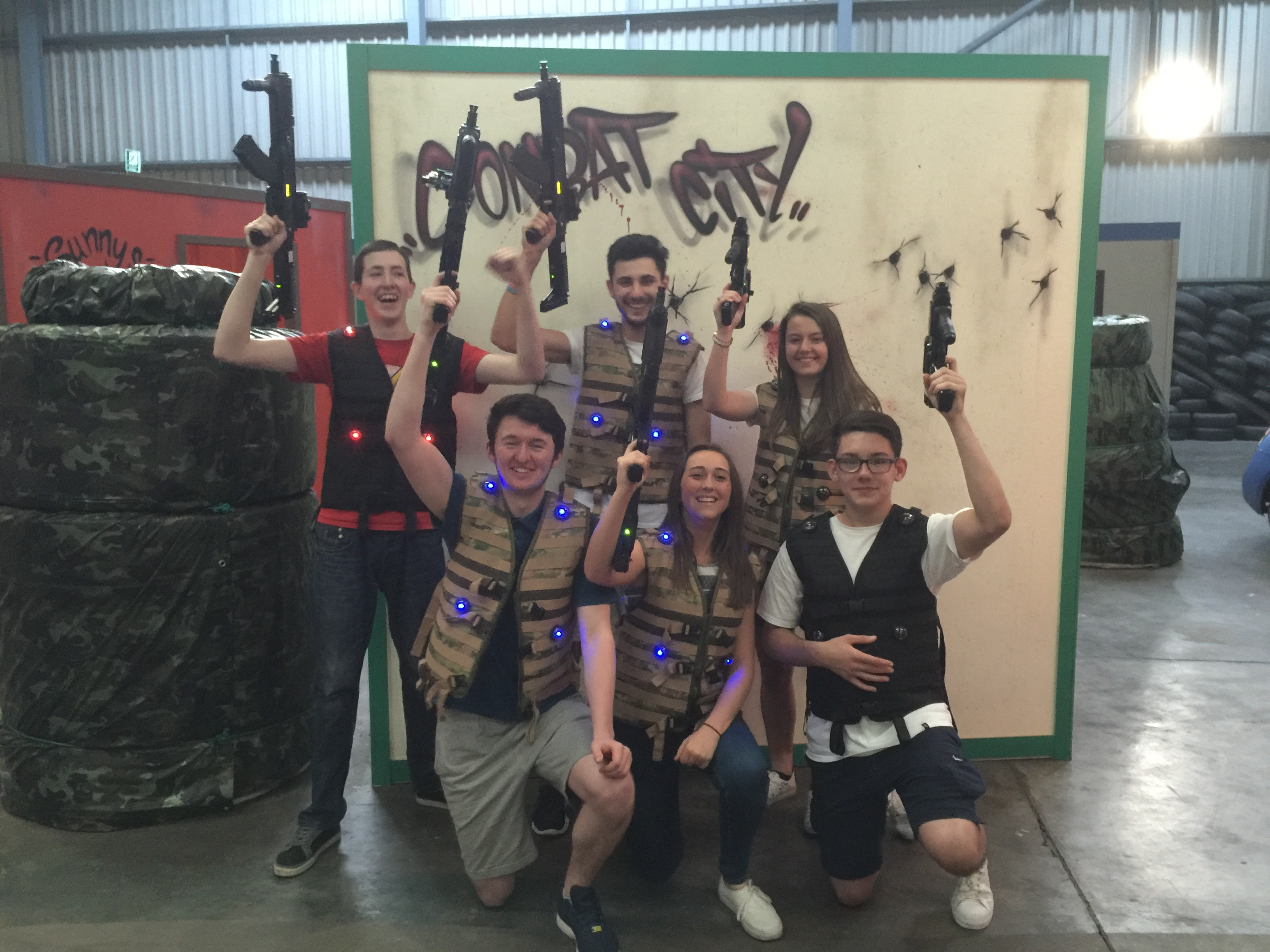 exclusive use laser tag dundee