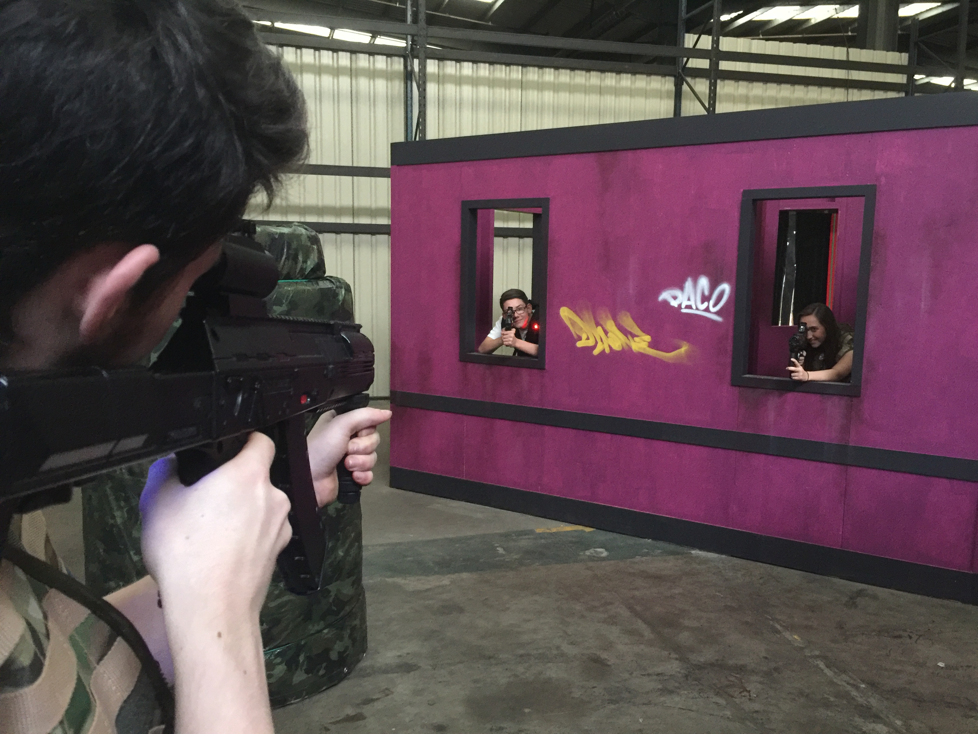 Tactical laser tag Dundee Offer