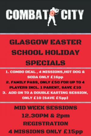 tactical laser tag glasgow easter activities with kids