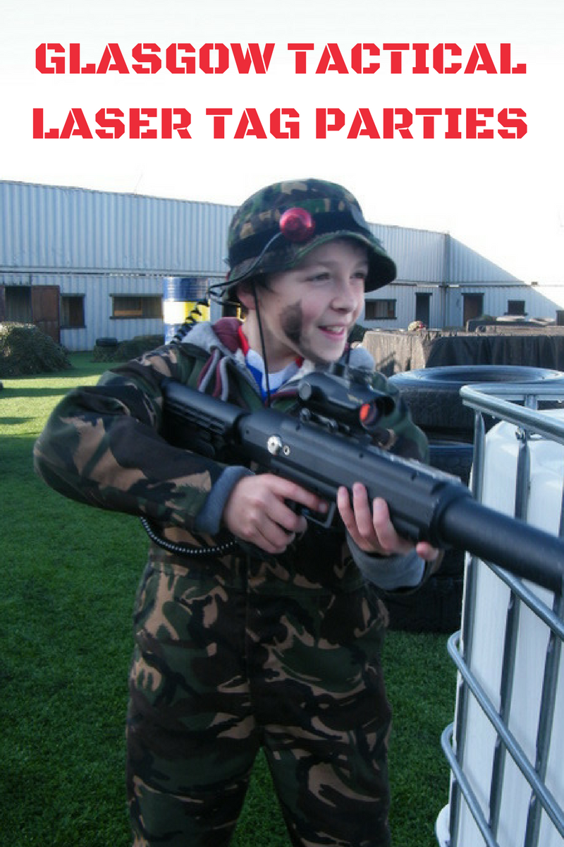 GLASGOW TACTICAL LASER TAG PARTIES