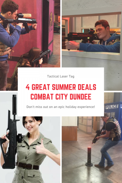 laser tag, tactical, dundee, karting, discount, offer, summer, day out, family, Dundee laser tag summer discounts