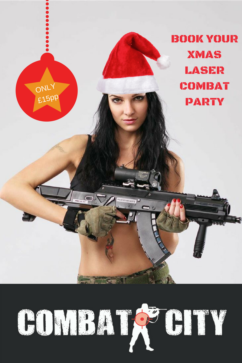 Christmas Laser Tag Parties Glasgow Dundee