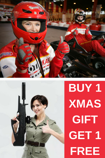 Tactical Laser Tag Xmas Gift Vouchers Glasgow - Dundee