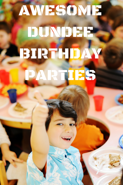 Dundee laser tag birthday parties